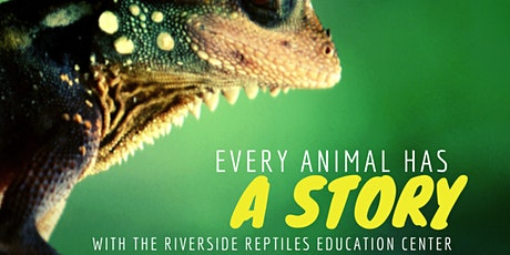 Take the Library to Your Child Day with the Riverside Reptiles Education Ce tickets