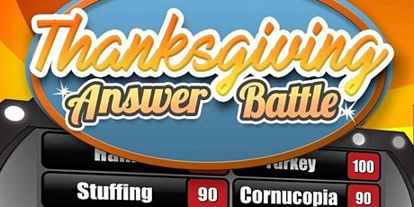 Thanksgiving Bingo + Survey Says (Safe Fun For Everybody!) tickets