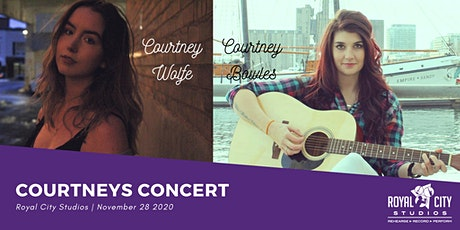 Courtney Bowles and Courtney Wolfe Live In Concert! tickets