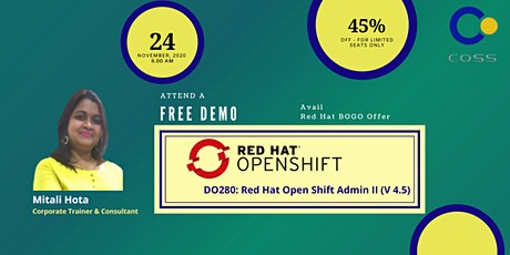 Demo - Red Hat OpenShift Administration II (DO280) tickets