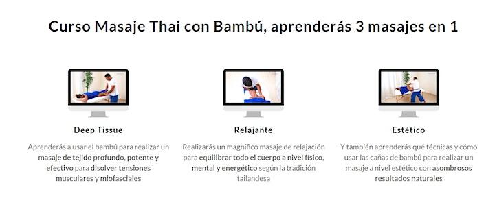 Imagen de Curso Masaje con Bambú Online