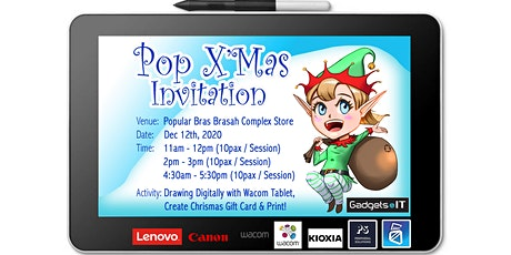 Pop Christmas Digital Art Workshop tickets
