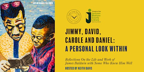 JIMMY, DAVID, CAROLE AND DANIEL:  A PERSONAL LOOK WITHIN tickets
