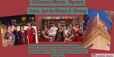 Christmas Roaring 20's Murder Mystery Event Roots and Revelry at TJ Tower tickets
