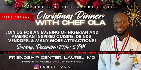 CHRISTMAS DINNER WITH CHEF OLA tickets