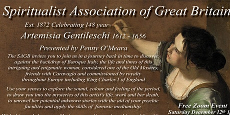 The Case of Artemisia Gentileschi: develop and apply your psychic gifts. tickets