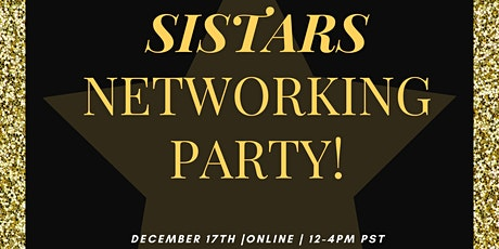 Sistars LIVE Networking Party 2020 tickets