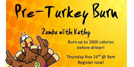 Pre-Turkey Zumba Burn with Kathy tickets