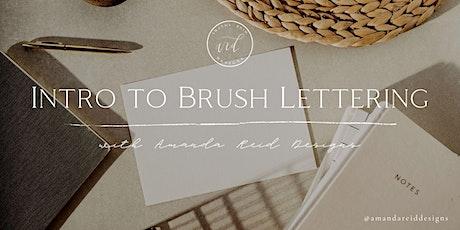 Intro to Brush Lettering: Christmas Edition biglietti