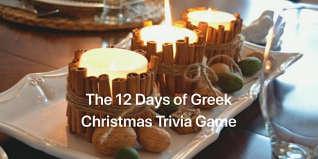 12  Days of Greek Christmas Trivia Game tickets