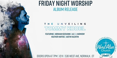 The Unveiling Album Release tickets