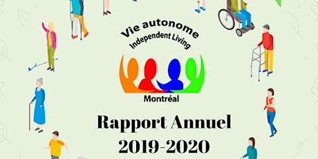 ASSEMBLÉE GÉNÉRALE ANNUELLE 2020VIE AUTONOME - MONTRÉAL billets