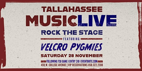 Velcro Pygmies - Rock The Stage tickets
