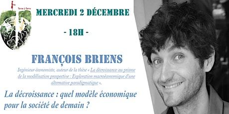 L'ENS Paris-Saclay reçoit François Briens. billets