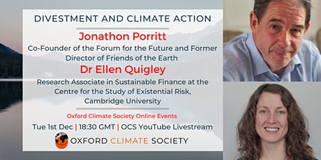 Divestment and Climate Action tickets