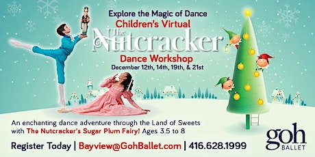 Children's Virtual Nutcracker Workshop tickets