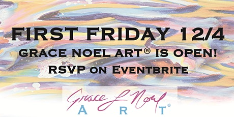 12/4 First Friday: Grace Noel Art Maternity Fundraiser | Grace Noel Art tickets