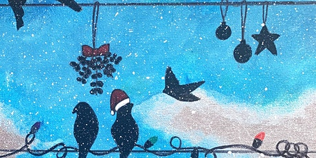 Winter Birds Paint | Sip |Create tickets