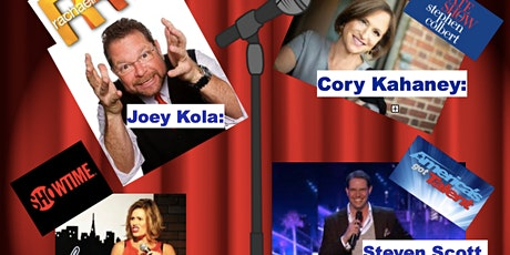 Parkwood Beach Holiday Comedy Fundraiser on Zoom tickets