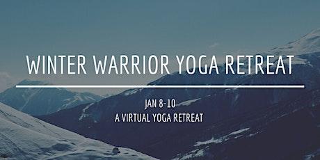 Winter Warrior Yoga Retreat tickets