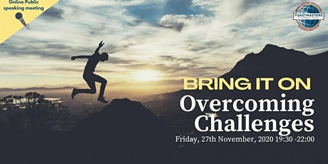 Online Public Speaking Extravaganza: Bring It On - Overcoming Challenges tickets