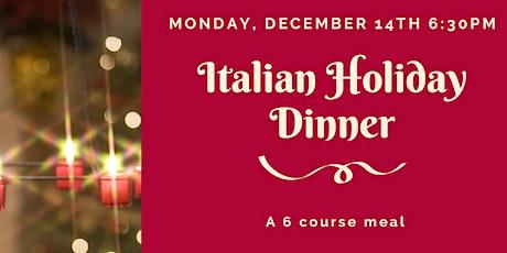 Italian Holiday Dinner tickets