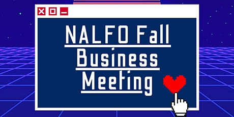 NALFO National Business Meeting - Fall 2020 tickets
