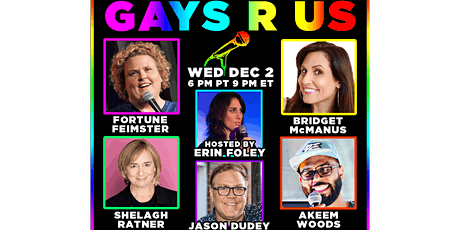 Gays R Us Comedy Show tickets