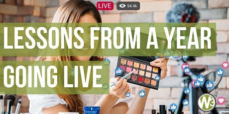 Lessons from a Year Going Live (Web and Beyond Webinars) tickets