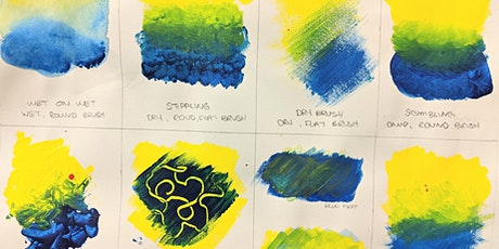 Basic Acrylic Techniques January 4th tickets