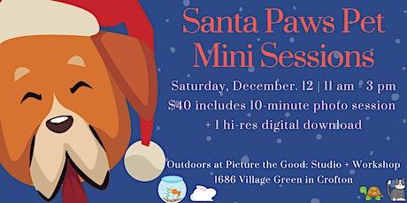 Santa Paws Pet Mini Sessions tickets