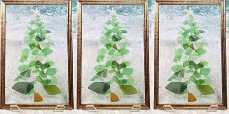 Sea Glass Christmas Tree Virtual Workshop tickets
