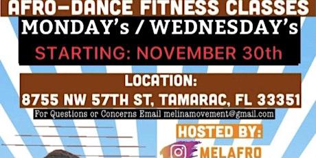 AFRO-DANCE FITNESS CLASS tickets