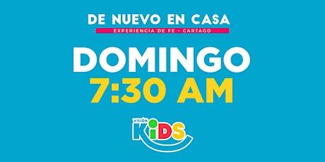 Kids Cartago. Experiencia de Fe  7:30am boletos