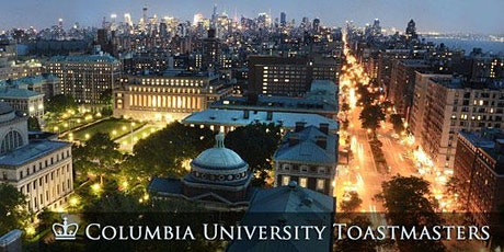 Columbia University Toastmasters Meeting tickets