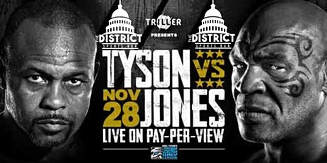|PPV|: MIKE TYSON VS ROY JONES JR tickets