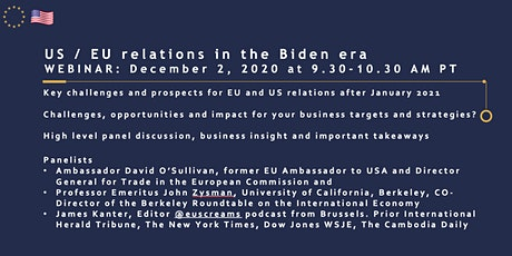 US/EU relations in the Biden era tickets
