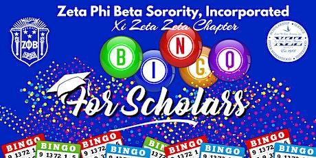 Bingo for Scholars tickets