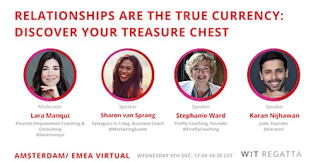 Relationships Are The True Currency: Discover Your Treasure Chest tickets