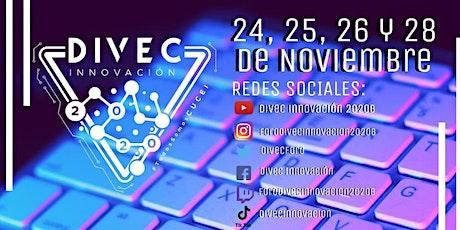 Foro virtual DIVEC Innovación 2020 CUCEI UDG entradas