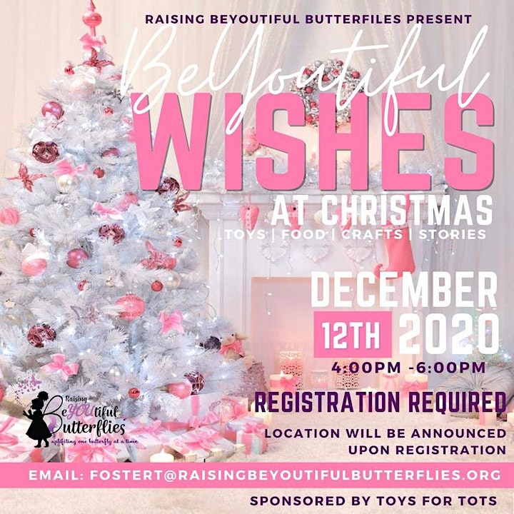 BeYOUtiful Wishes At Christmas (Toy Giveaway) Tickets, Sat, Dec 12