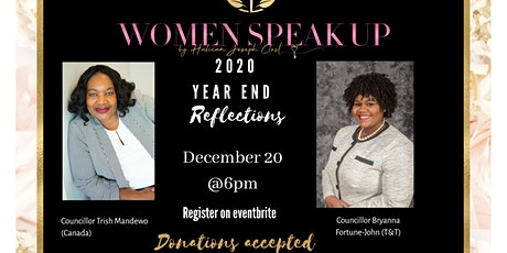 Women Speak Up End of Year Reflections tickets