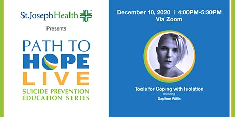 Path to Hope Live - December 10th with Daphne Willis tickets