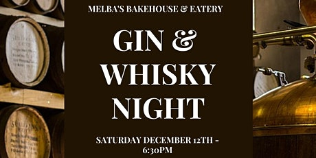 GIN & WHISKY NIGHT tickets