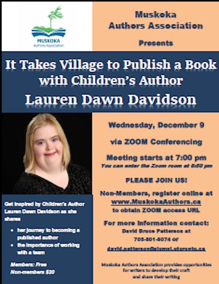 It Takes A Village…To Publish A Book with Lauren Dawn Davidson image