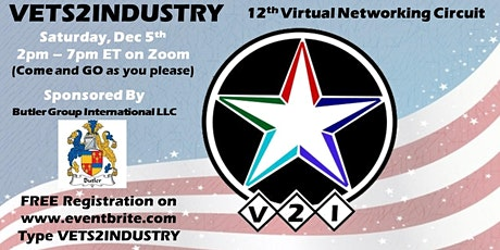 12th VETS2INDUSTRY Virtual Networking Circuit Event tickets