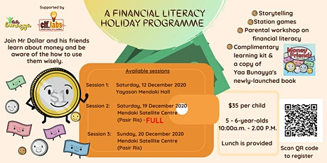 A Financial Literacy Holiday Programme tickets