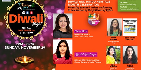 Namaste Live with Panorama India : Diwali Night tickets