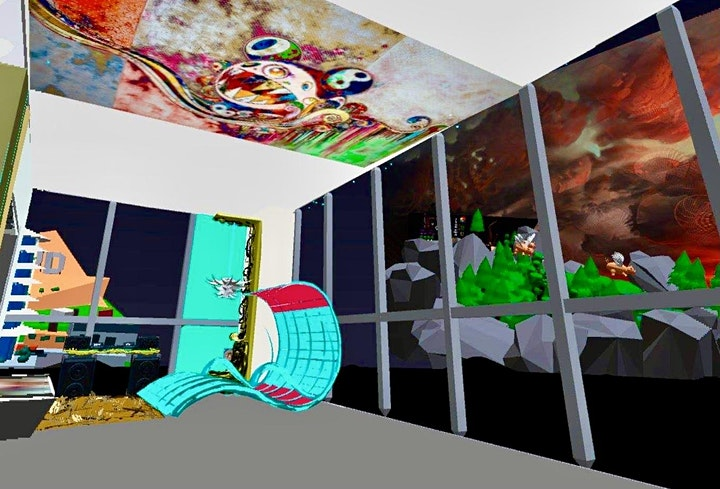 Penthouse Augmented Reality Gallery Experience with Wine Tasting image