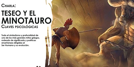 Charla: Teseo y el Minotauro, claves psicológicas entradas